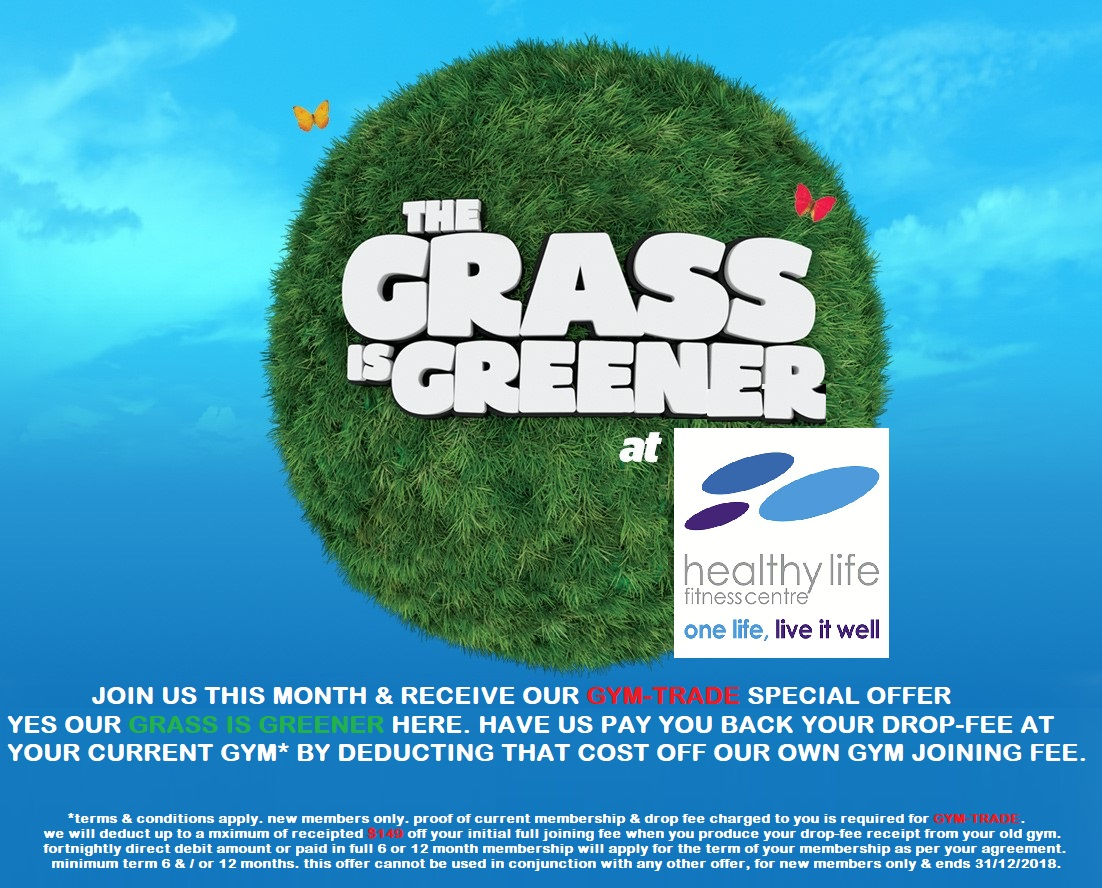 Healthy Life Fitness Centre - The grass is greener at healthy life fitness centre