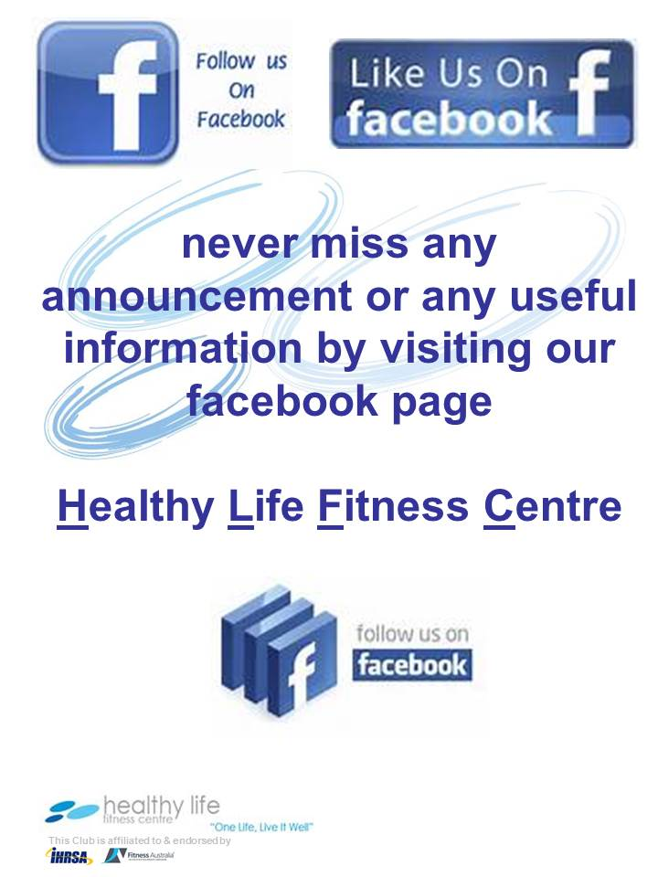 Like Healthy Life Fitness Centre on Facebook